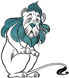 León cobarde