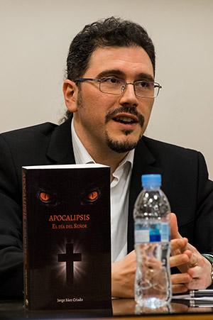 Jorge Sáez Criado, escritor de ciencia ficción, fantasía, misterio y suspense sobrenatural y no ficción espiritual